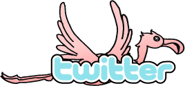 Follow the Flamingo on Twitter