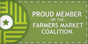 Proud Member of the Farmers Market Coalition
